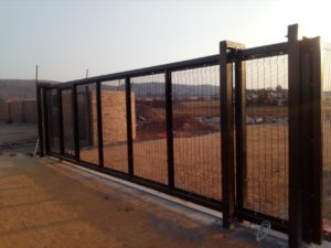 security fencing, clearview gate